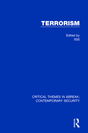 Terrorism (IISS) book cover