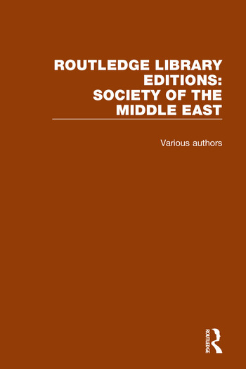 Routledge Library Editions: Society of the Middle East book cover