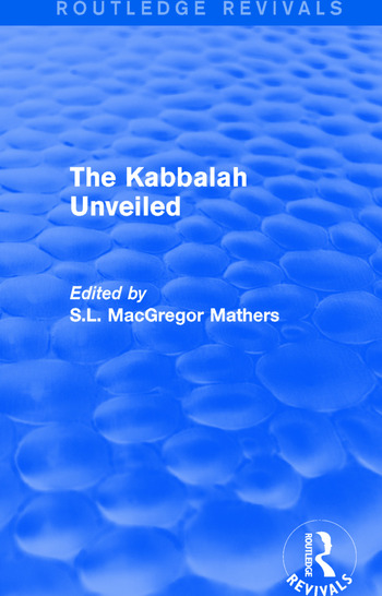 The Kabbalah Unveiled book cover