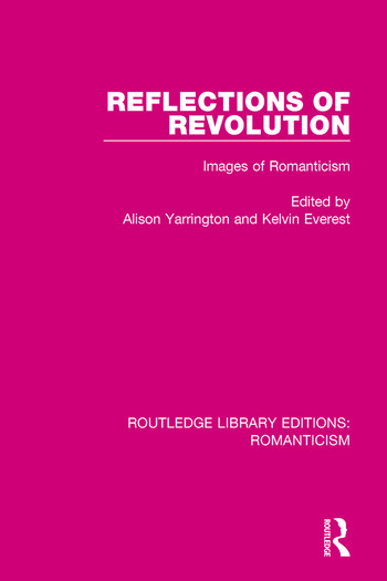 Reflections of Revolution Images of Romanticism book cover