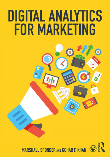 Digital Analytics for Marketing book cover