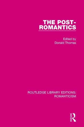 The Post-Romantics book cover