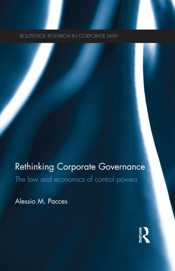 Rethinking Corporate Governance The Law and Economics of Control Powers book cover
