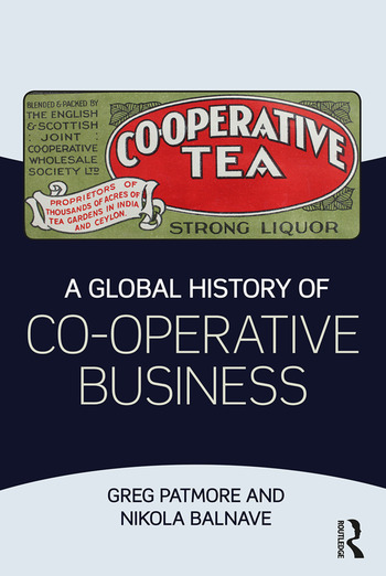 A Global History of Co-operative Business book cover