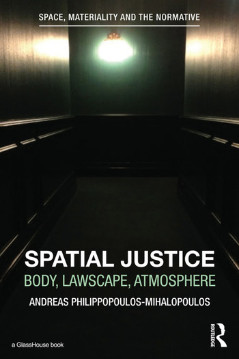 Spatial Justice Body, Lawscape, Atmosphere book cover