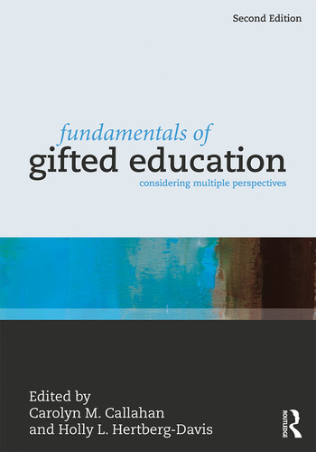 Fundamentals of Gifted Education Considering Multiple Perspectives book cover