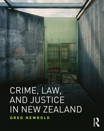 Crime, Law and Justice in New Zealand book cover