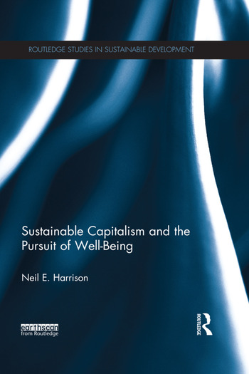 Sustainable Capitalism and the Pursuit of Well-Being book cover