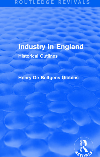 Industry in England Historical Outlines book cover