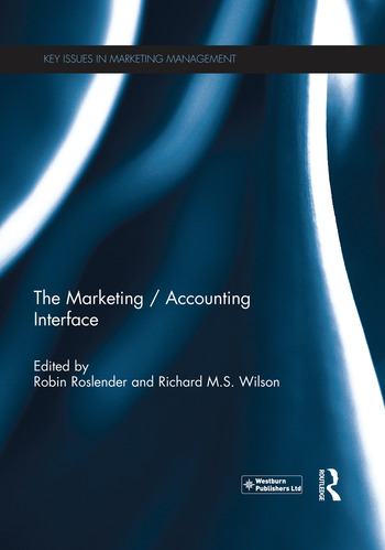 The Marketing / Accounting Interface book cover