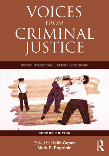 Voices from Criminal Justice Insider Perspectives, Outsider Experiences book cover