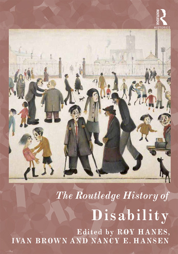 The Routledge History of Disability book cover