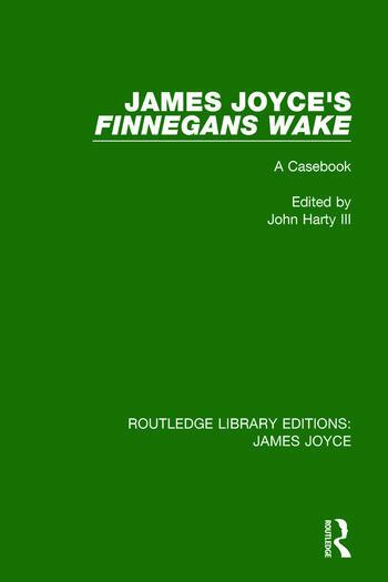 James Joyce's Finnegans Wake A Casebook book cover