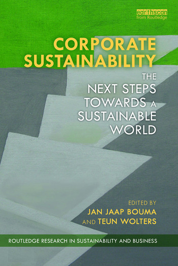 Corporate Sustainability The Next Steps Towards a Sustainable World book cover