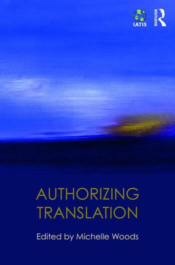 Authorizing Translation book cover