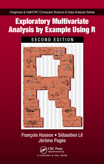 Exploratory Multivariate Analysis by Example Using R book cover