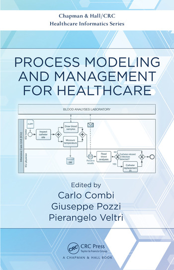 Process Modeling and Management for Healthcare book cover