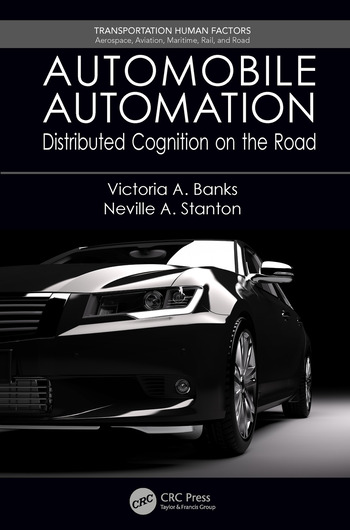 Automobile Automation Distributed Cognition on the Road book cover