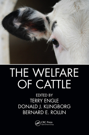 The Welfare of Cattle book cover