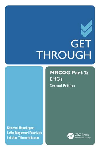 Get Through MRCOG Part 2 EMQS book cover