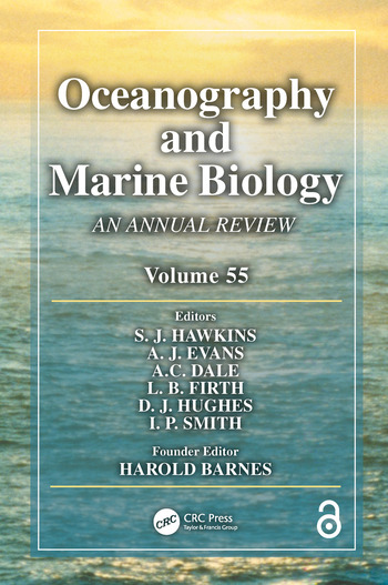Oceanography and Marine Biology An Annual Review, Volume 55 book cover
