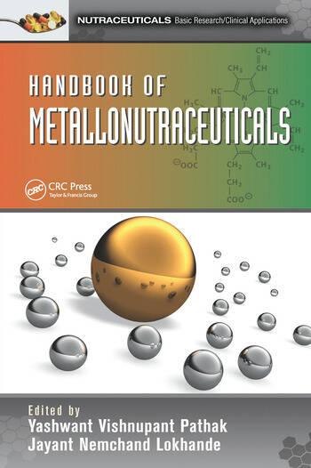 Handbook of Metallonutraceuticals book cover