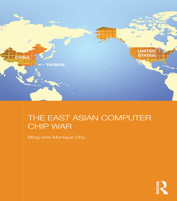 The East Asian Computer Chip War book cover