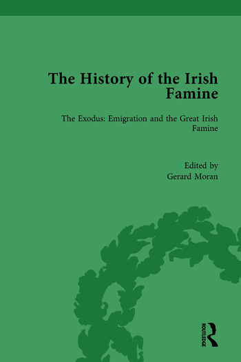 The History of the Irish Famine The Exodus: Emigration and the Great Irish Famine book cover