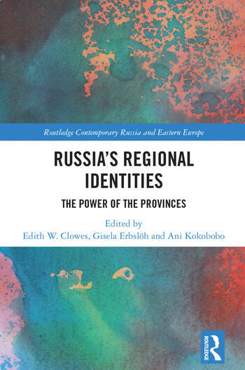 Russia's Regional Identities The Power of the Provinces book cover