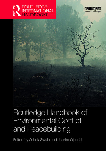 Routledge Handbook of Environmental Conflict and Peacebuilding book cover