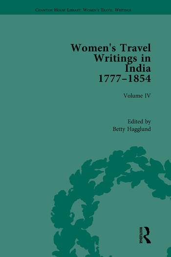 Women's Travel Writings in India 1777-1845 Volume IV: Mary Martha Sherwood, The Life of Mrs Sherwood (1854) book cover