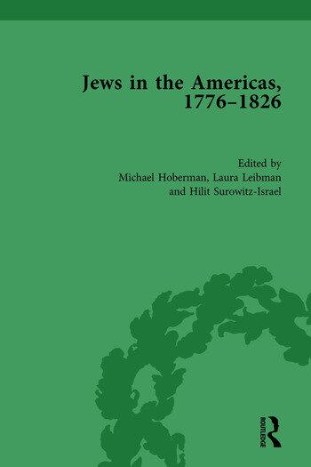 Jews in the Americas, 1776-1826 book cover