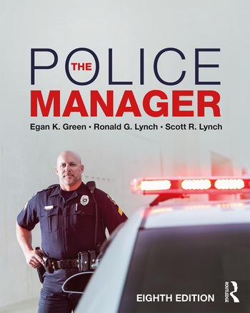 The Police Manager 8th Edition book cover