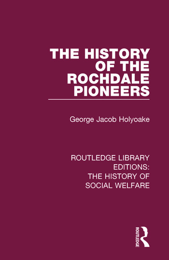 The History of the Rochdale Pioneers book cover