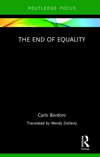 The End of Equality book cover