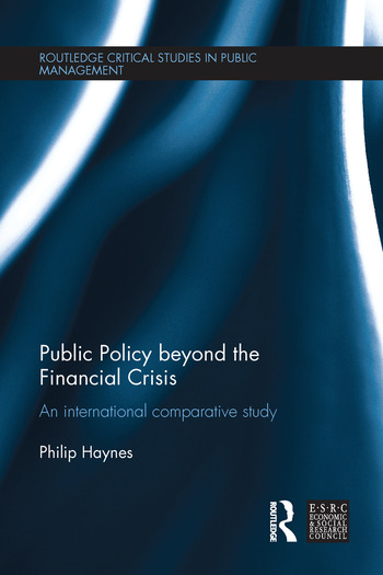 Public Policy beyond the Financial Crisis An International Comparative Study book cover