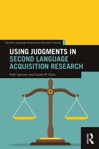 Using Judgments in Second Language Acquisition Research book cover