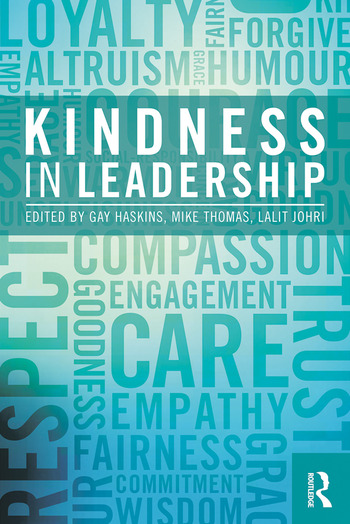 Kindness in Leadership book cover