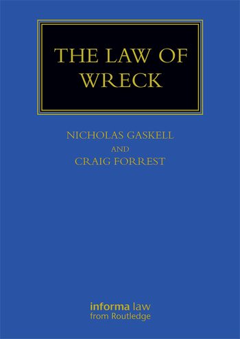 The Law of Wreck book cover