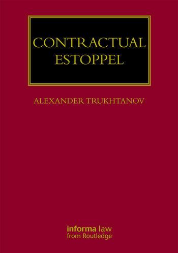 Contractual Estoppel book cover