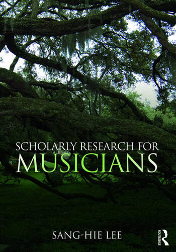 Scholarly Research for Musicians book cover