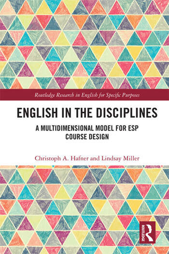 English in the Disciplines A Multidimensional Model for ESP Course Design book cover
