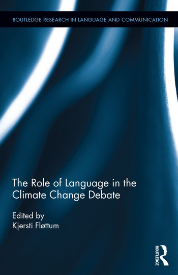 The Role of Language in the Climate Change Debate book cover