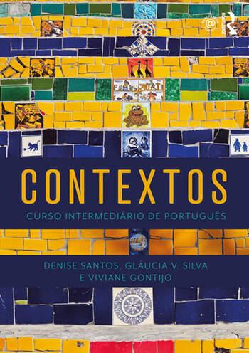 Contextos Curso Intermediário de Português book cover