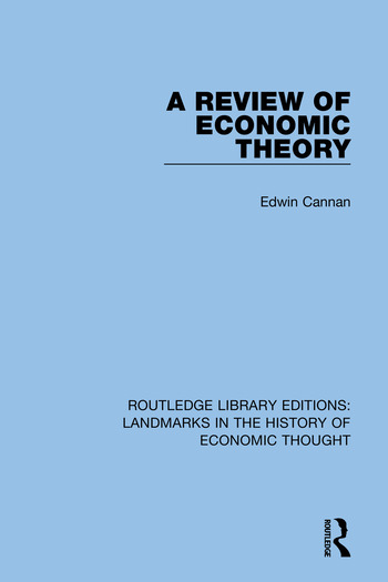 Routledge Library Editions: Landmarks in the History of Economic Thought book cover