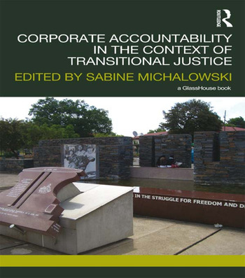 Corporate Accountability in the Context of Transitional Justice book cover