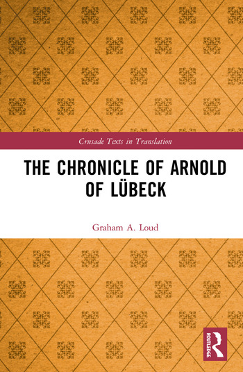 The Chronicle of Arnold of Lübeck book cover