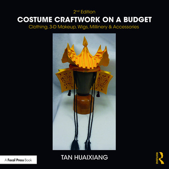 Costume Craftwork on a Budget Clothing, 3-D Makeup, Wigs, Millinery & Accessories book cover