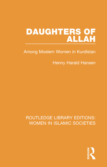 Daughters of Allah Among Moslem Women in Kurdistan book cover