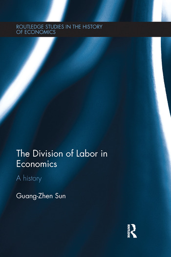The Division of Labor in Economics A History book cover